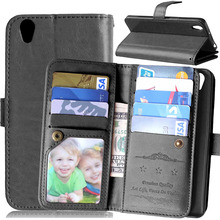 Black Wallet With Photo Frame PU Leather Case Cover For Oneplus X Case Cell Phone Cover For OnePlus X With Card Holder Stand