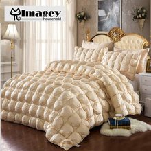 Imagey Exceed Best 5-Star Hotel Quality Luxury Galleria King Comforter Alternative Goose Down Comforter,Hypoallergenic Bedding