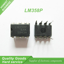 10pcs LM358 LM358P DIP-8 Operational Amplifiers - Op Amps Dual Op Amp new original(China)