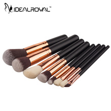 8pcs/lot Hot Sale Makeup Brush Multi-function Makeup Brushes High quality Eyeshadow Blusher Powder Brush Tools