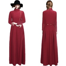 2017 Spring Fashion Women's Trench Coat Casual long loose Womens Dress Coats Military Trench Coat  for Lady