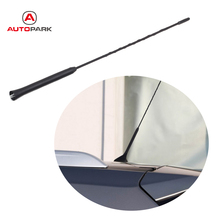 16 Inch Car Screw in AM/FM Roof Antenna Whip Mast Radio Aerials Auto Vehicle Car Antenna for BMW Toyota VW