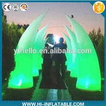 2016 new products advertising ideas giant inflatable pillar with blower