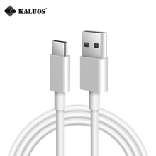 KALUOS 1m 8-Pin Type-C Micro USB Data Sync Charging Cable iPhone 5 6 7 8 X Samsung LG Redmi OnePlus ZUK Phone Charger Cables