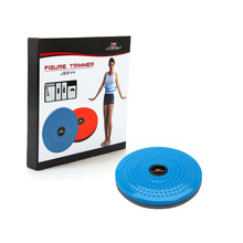Twisting Waist Disc Body Twister Exercise Foot Exercise Fitness Twister Figure Trimmer Magnet Balance Rotating Board(China)