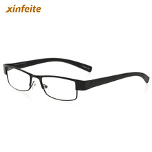 The old Reading Glasses Metal Eyeglasses Black Frame Presbyopia 7 different degrees Drop Ship Men Women