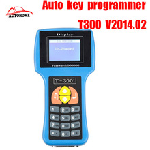 Newest Version 2015 T300 Key Programmer V14.2 T-300 Auto Transponder Key T code T 300 key maker  with Free china post ship