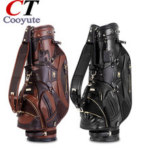 Cooyute New Golf Bags High quality PU Sport Bags in choice 10. inch MAJESTY Golf Cart bag Free shipping(China)