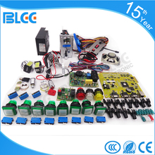 Solt game kits with Coolair casino PCB board V33 coin mech Illuminated buttons jamma Wiring for casino slot game machine