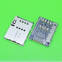 Sim Card Slot Holder Reader Repir Part For Samsung Galaxy Tab 3 P5250 P5200 New In Stock +Tracking