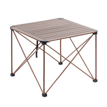 Naturehike Outdoor Aluminium Alloy Folding Table Structure Portable Camping Table Furniture Foldable Picnic utensils