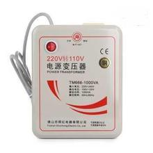 1000W Pure Copper Heavy Portable Voltage Converter 220V to 110V Electricity Power Transformer Adapter Universal Socket(China)