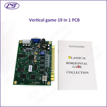 Free shipping Jamma classic 19 in 1 PCB  for Cocktail Arcade Machine or Up Right arcade game machine vertical board