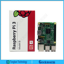 RS Raspberry Pi 3 Model B  ARM Cortex-A53 CPU 1.2GHz 64-Bit Quad-Core Board w/ 1GB RAM