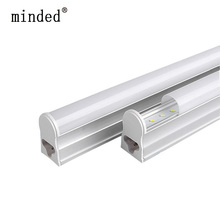 220/240V T5 LED Tube Wall Lamp Cold/Warm White Fluorescent T5 Integrated Light LED Tube 30cm 6W 60cm 10W 24/48pcs Leds Tube Lamp(China)