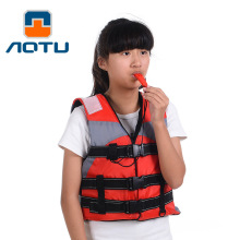 Polyester Children Life Jacket for Swimming Boating Drifting Surfing Outdoor Water Sports Child Life Vest With Whistle H29