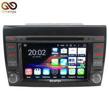 New 1080P 64-Bit CPU 2GB RAM Android 7.1.2 Car DVD GPS For Fiat Bravo 2007-2013 Stereo Radio Multimedia Video Player(China)