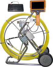 60m push cable Industrial pipe inspection camera 712DKC-SCJ used sewer camera for sale