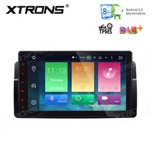 XTRONS 9'' HD Android 6.0 Octa 8 Core 1 Din Car DVD Player Radio GPS for BMW E46 M3 2000-2006 Rover 75 1999-2005 MG ZT 2001-2005(China)
