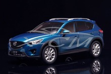 Diecast Car Model Mazda CX-5 1:18 (Blue) + SMALL GIFT!!!!!!!!!!!