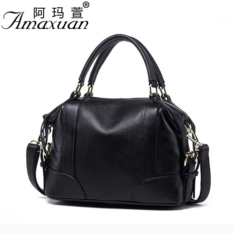 2017 Ladies genuine leather handbag Designer handbags women portfolio sac a main Womens over-the-shoulder bags Clutch BH1430<br>