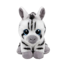 "Ty Beanie Babies 6"" 15cm Stripes Zebra Plush Stuffed Animal Collectible Soft Doll Toy(China)"