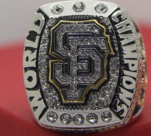 2014 San Francisco Giants baseball world championship replica rings for fans alloy rings US size 11 on sale