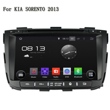 8 Inch 1024*600 HD Touch Screen 1080P Wifi Double Din Steering Wheel Control GPS Navigation Car DVD Player For Kia SORENTO 2013(China)