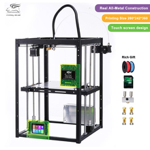 2018 Newest design Free shiping Flyingbear P905X DIY 3d Printer kit Full metal Large printing size High Makerbot Structure(China)