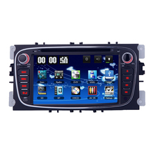 Double 2 Din Car DVD Player GPS Navi for Ford Focus Mondeo Galaxy 3G Audio Radio Stereo Head Unit BT iPod RDS Can-Bus