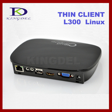 KINGDEL N300 Network Cloud Terminals+ Mini PC Station+Thin Client+Computer+512MB Dual Core 1Ghz +Mic&Speaker+ linux 2.6 OS