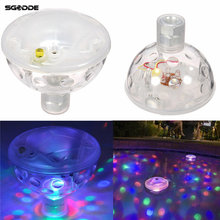 Waterproof Color Changing Glowing LED Underwater Fountain Light Show Swimming Pool Disco Party Float Spa Bath Pond Lights