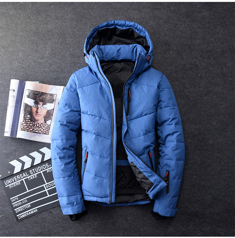 Down parka men big size M-3XL mens Winter jacket brand duck down jacket 70% white duck down jacket Winter Hooded Coat