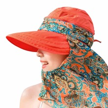 Summer Style Women Foldable Wide Large Brim Floppy Beach Gorro Hats Chapeu Outdoors Visors Cap Sun Collapsible Anti-Uv 7 colors
