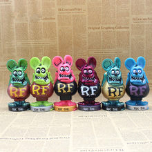 Rat Fink BIG DADDY Bobble Head PVC Action Figure Collectible Model Toys  16cm(China) 0fa1e62c3d87