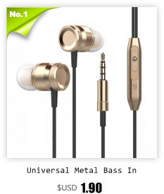 UiiSii GT500 Subwoofer DIY Headset In-ear Type Music Recording MP3 Earplugs In-line Control Wired Headphone for Mobile Phones