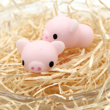 Super cute Funny Toys cartoon pig toys Squeeze Antistress Toy Pop Doll Novelty Stress Relief Venting Joking Decompression(China)