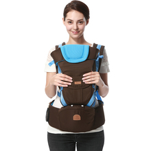 2017 Ergonomic Design Baby Carrier Double Shoulders Multi-function Infant Baby Kids Children Sling Backpacks Kangaroo Carriers(China)
