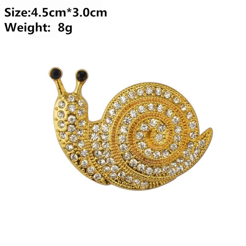 MZC-New-Elegant-Strass-Gold-Metal-Snails-Broach-Femal-Lapel-Pin-Cute-Insect-Brooch-Pin-Rhinestone