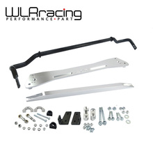 WLRING STORE- NEW SWAY BAR FOR HONDA 92-95 EG SUB FRAME + LOWER TIE BAR + 24MM SWAY BAR FOR CIVIC INTEGRA 1994-2001(China)