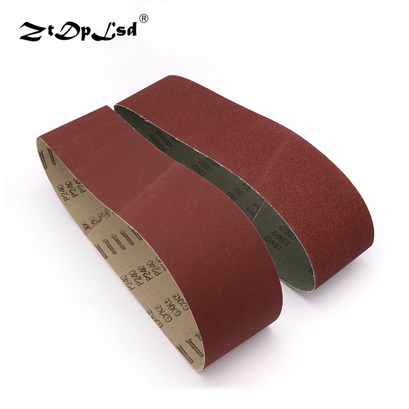 Abrasive Tools Hearty 60-600 Grits Sandpaper Sanding Belts Abrasive Bands For Sander Power Rotary Tools Dremel Accessories Abrasive Tool Discounts Sale