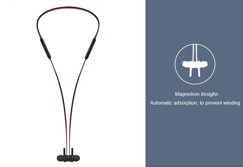 Hangrui Waterproof Auriculares X18 Bluetooth Earphone IPX4 Sport Running Headphone With Mic Headset Magnetic Wireless Neckband