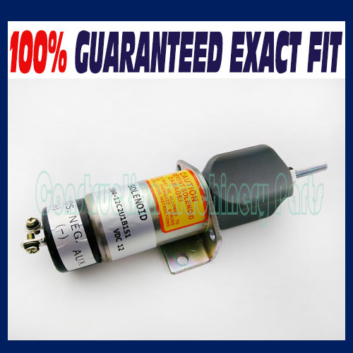 Fuel shutoff, stop solenoid 1504-12, 1504-12C2U1B1S1 DF-750 Choke Solenoid<br>