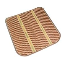 "2017 Hot Selling High Quality Summer Cool Natural Bamboo Mat Seat Car Home Office Chair Cushion 16""jul21(China)"