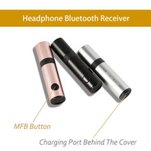 MENCOM Bluetooth Receiver 3.5mm Jack Wireless Car Audio Music Adapter With Mic Aux Cable For Speaker Headphone PC New(China)