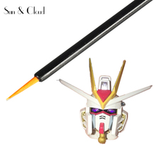 1 Piece 9cm X 0.3cm Brush Pen for Action Figure 1/100 MG Gundam Paint Draw Marker Painting Dispensing Water Resistant  Supplies