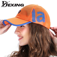 [Dexing] 2017 Mens Baseball Cap and Hats for  women men Summer Bone Trucker Cap orange Hip Hop Snapback for Adult truck hat