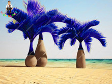 Multi-Color 30 Pcs Blue Bottle Palm Seeds Exotic Plants Tree Balcony Bonsai Diy Home Garden Plants Japan Giant Cycas Tree Plants