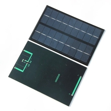 Wholesale 9V 3W Mini Solar cell polycrystalline Solar Panel charger Solar power kit DIY education100pcs/lot DHL Free Shipping(China)