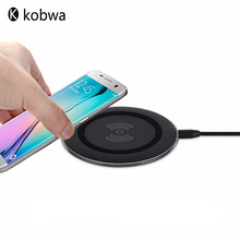 Universal Rechargeable USB Wireless Charger Stand Power Bank Anti-Slip Rubber Portable Battery Charging For Iphone Mobile Phones(China)